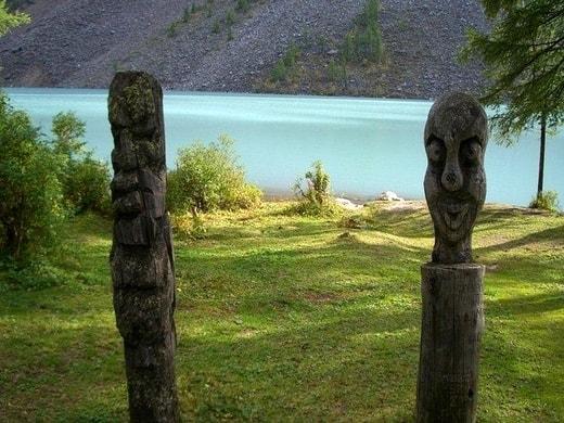 Стоянка у Шавлинского озера