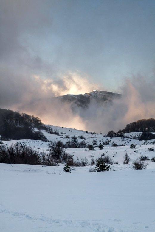 Отчет о зимнем походе по Крыму с веревками на Караби
